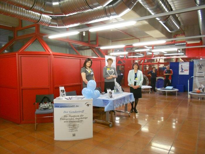 Gendertreff beim IT NRW Gesundheitstag 001