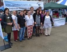 Gendertreff beim CSD Duisburg 2015: Sturmtief Zeljko sorgt für den kürzesten CSD aller Zeiten