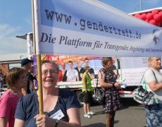 Fotos vom Gendertreff beim CSD Aurich 2015