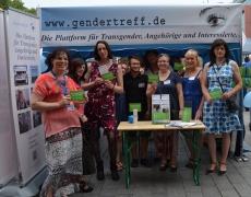Gendertreff beim CSD Duisburg 2016