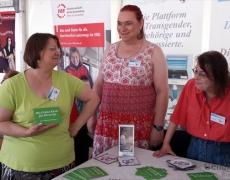 Gendertreff auf dem Selbsthilfe Festival in Berlin