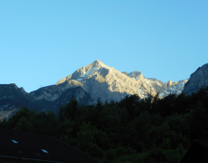 Am Fuß der Zugspitze