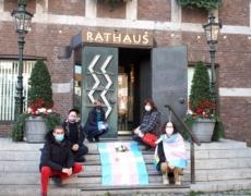 Transgender Day of Remembrance 2020 in Düsseldorf